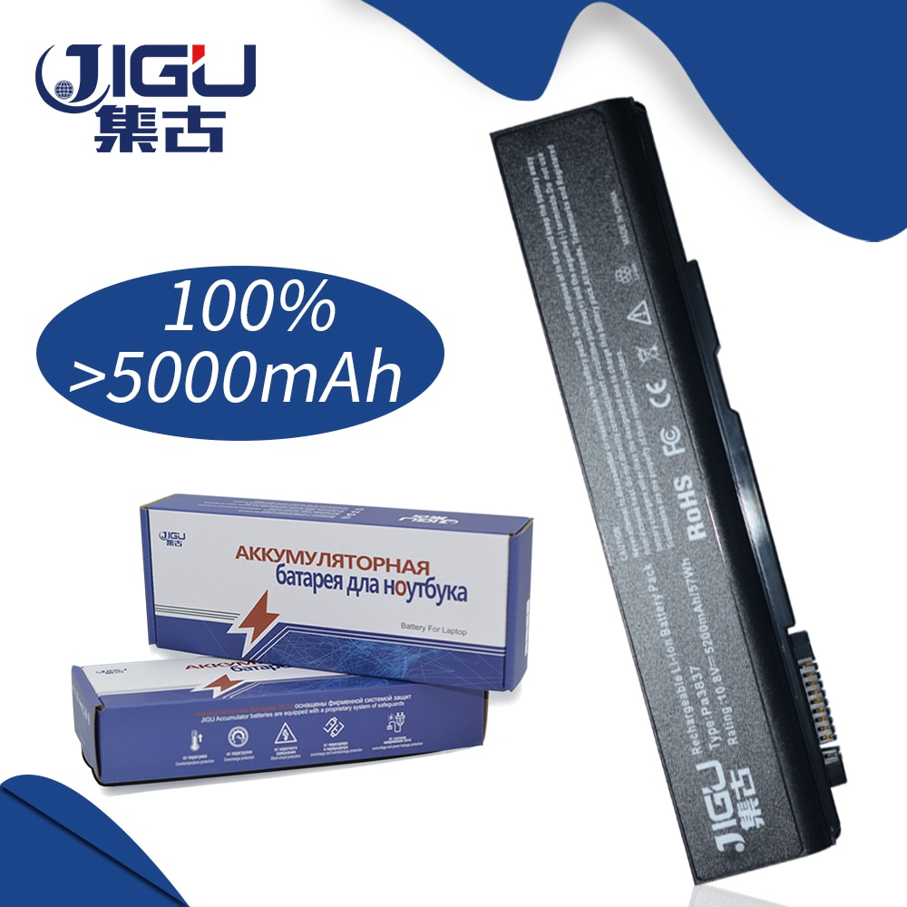 Nueva batería de ordenador portátil de 6 celdas jgu para PA3788U-1BRS para Toshiba Satellite Pro S500-00M Pro S500-10E Tecra A11-S3510