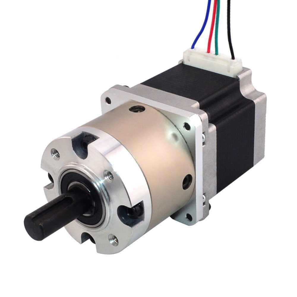 Motor paso a paso Nema 23 con caja de cambios planetaria 41 y conector Pin L = 56mm Nema23 motored Stepper Motor 2.8A CNC impresora 3D