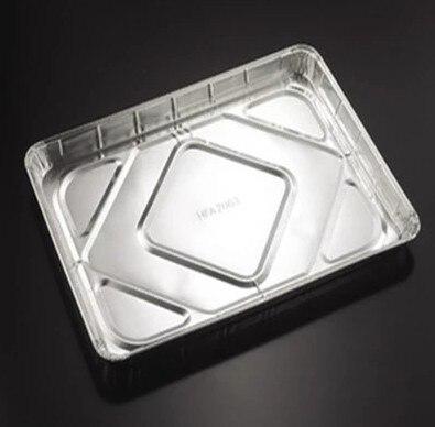 Churrasco ao ar livre placa de placa de alumínio de 20 pçs/set no 325 * 220 * 33 mm