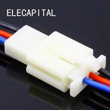 1 Kit 3 broches manière connecteur de fil électrique ensemble de connecteurs auto avec câble/longueur totale 21CM