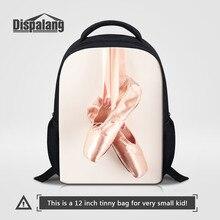 Dispalang cadeaux pour enfants filles mignonnes sacs à dos Ballet chaussures orteil impression enfants cartable pas cher sacs à bandoulière bébé Mini sac à dos
