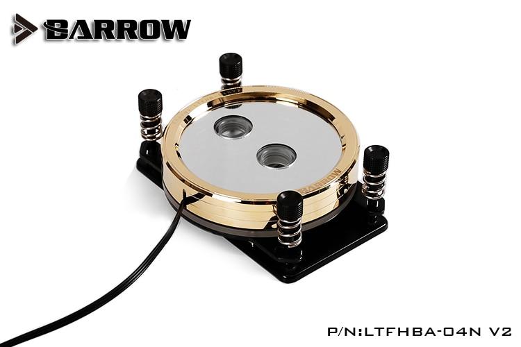 Barrow LTFHBA-04N V2 Gold Plated RGB LRC2.0 CPU Water Cooling Block for AMD AM2 AM3 AM4