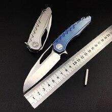Couteau pliant personnalisé D2 lame en acier Camping Combat chasse survie couteaux de poche Combat tactique EDC Multi outils