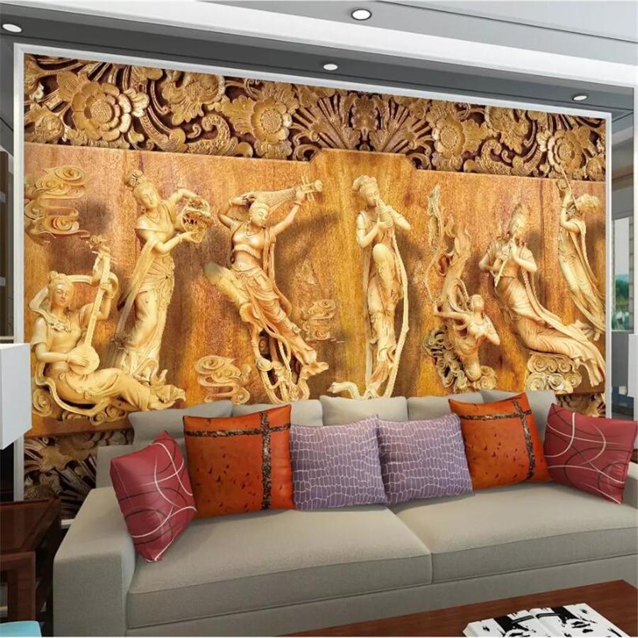 Papel pintado personalizado wellyu, papel de pared 3d, murales de fotos, Bloc...
