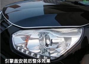 3M Car accessories Automotive air conditioning U Style decoration strip for saab key 9-3 9-5 emblem 93 evening dress 95 styling