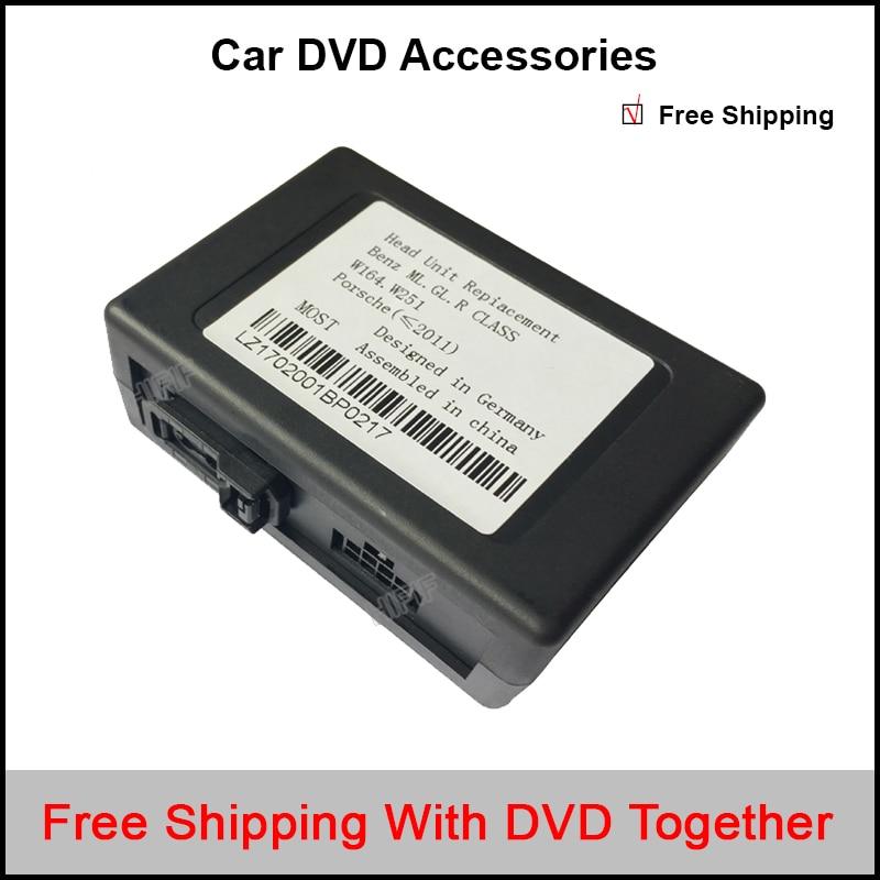 Optical fiber decoder/canbus for Mercedes Benz ML/R Series; For Porsche Cayenne Series
