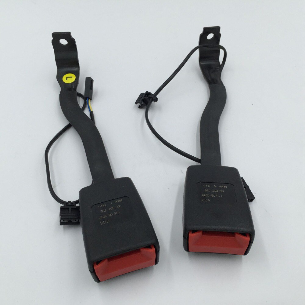 Для VW Passat B6 Golf 5 Jetta MK5 передний левый или правый ремень безопасности Пряжка Прокладка Разъем 1KD 857 756/1KD 857 755
