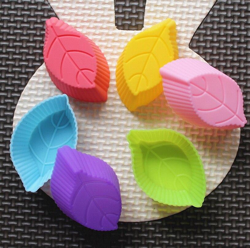 10 шт., форма для мыла в форме листа, силиконовая пресс-форма для украшения торта, помадка для торта, 3D силиконовая форма для пищевых продуктов