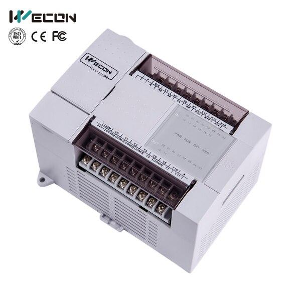 Wecon LX3V-1212MT-D 24 pontos micro transistor saída módulo plc
