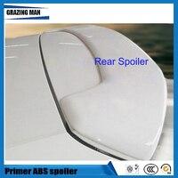 ABS Primer Color Rear Roof Spoiler For Polo Hatchback 2010-2015