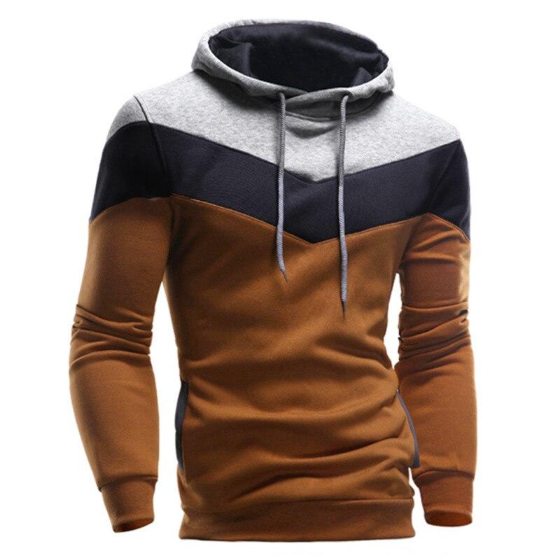 De talla grande chaqueta con capucha hombre invierno Primavera de Sudadera con capucha de hombre de manga larga con bolsillo de Jersey Sudadera con capucha abrigo 12,26