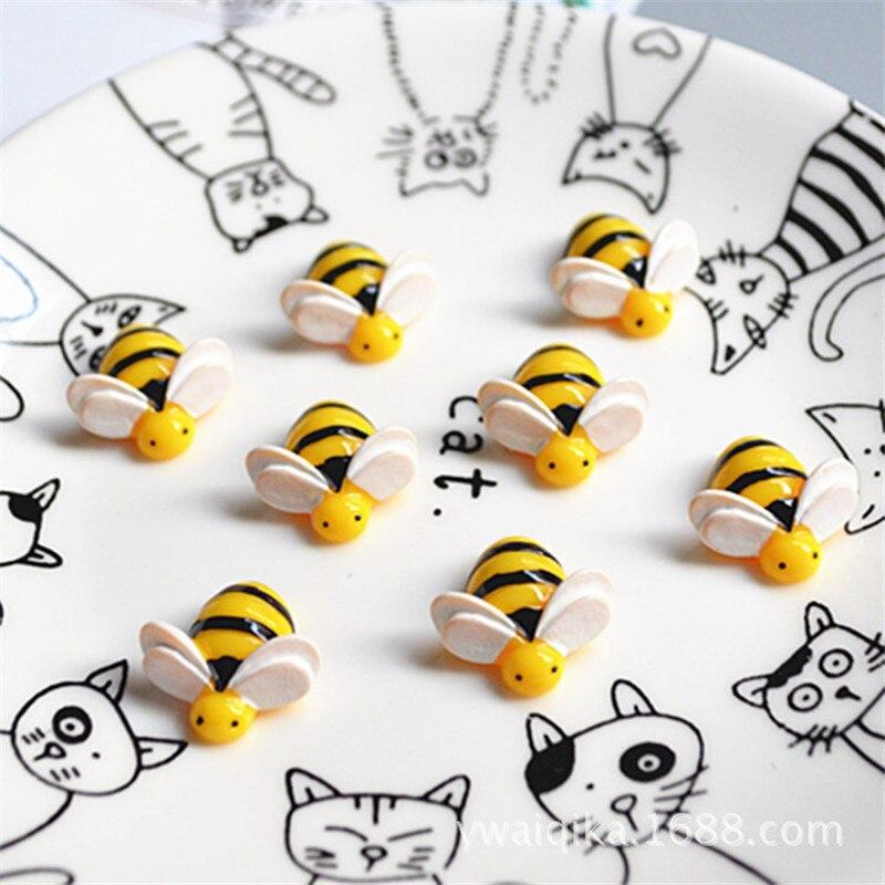 5 шт./лот, игрушка-подвеска для детей с искусственными пчелами, имитация глины, аксессуары для детей