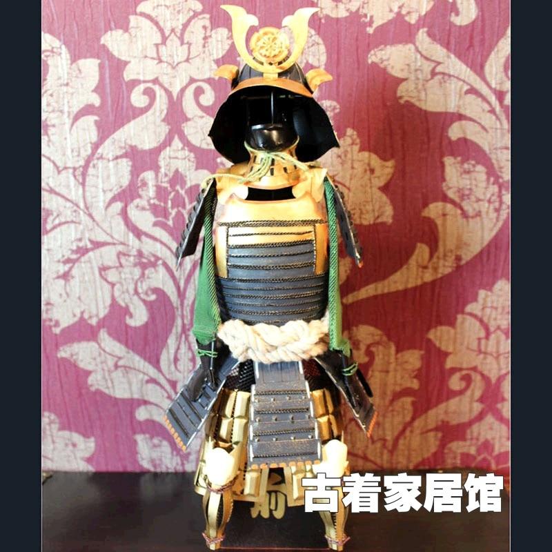 Oda Nobunaga/armadura modelo de armadura retro/armadura de Samurai japonés/guerra Estados japonés restaurante Decoración