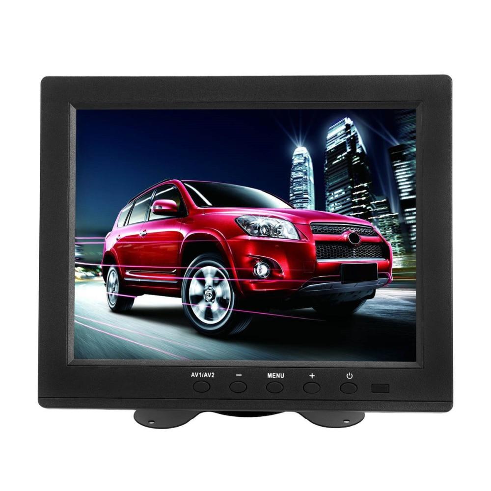 Wearson 8 inch LCD Monitor Screen 4:3 1024x768 with VGA/HDMI/BNC/AV Function For Car DSLR & PC & DVD & Car Backup Camera