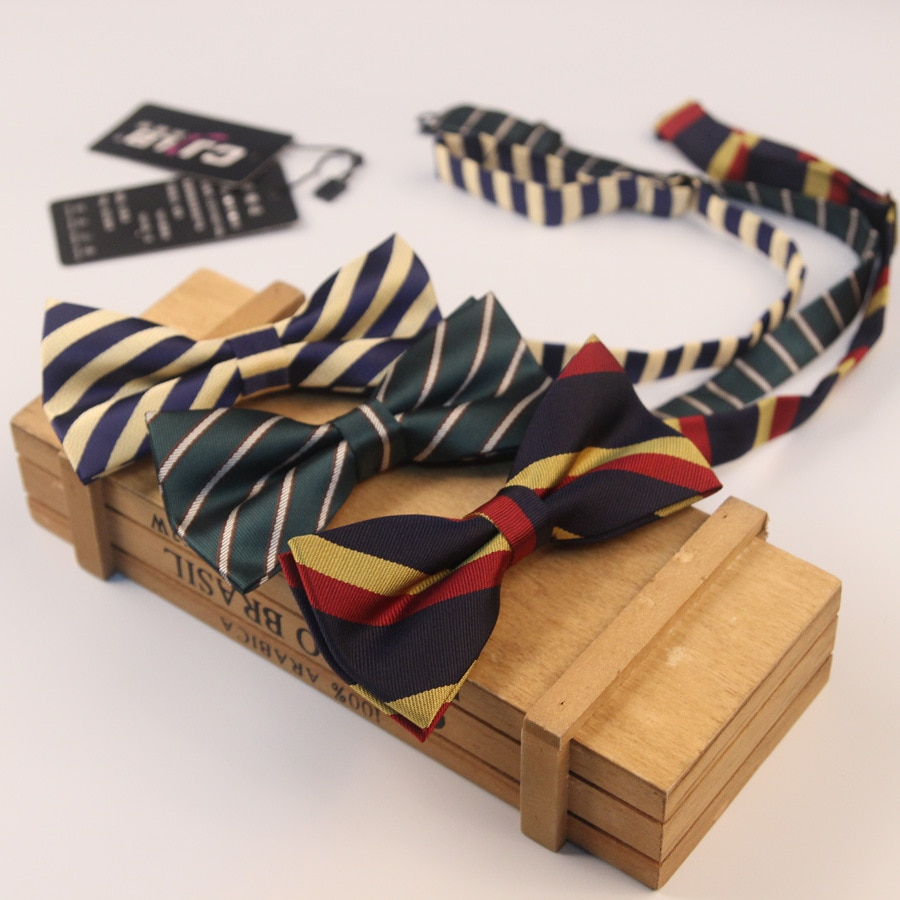 44 ألوان الموضة مصمم الساخن رجالي الدعاوى ربطة العنق للأعمال الكلاسيكية فراشة مخطط 1200 إبرة 300 قطعة/الوحدة فيديكس
