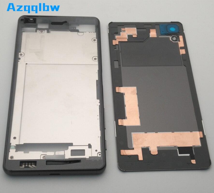 Azqqlbw-carcasa frontal para Sony Xperia X Performance XP F8131 F8132, placa de...