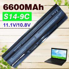 6600mAh battery For MSI FR700 FR400 FR600 FR610 FR620 FR700 FX400 GE70 GE60 FX420 FX600 FX603 FX610 CR650 CX65 BTY-S14 BTY-S15