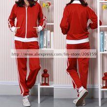 Vocaloid Matryoshka Meiko Red Sport Uniform Set Cosplay Costume With Gloves Vocaloid Cosplay Halloween Costumes