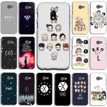 Kpop exo Glück einer Fest telefon fall für Samsung GaLaxy J6 J7 J1 J2 J3 J5 2015 2016 2017 Prime