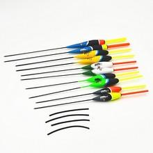 Série Master flotte 10 pcs/lot 2g/17.5 cm 3g/18 cm 4g/21.5 cm flotteur de pêche bouée Bobber pêche à la carpe