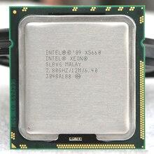 INTEL xeon X5660 INTEL X5660 processeur dunité centrale 2.8 GHz/LGA1 366 SCOKET 1366 serveur CPU P garantie 1 an