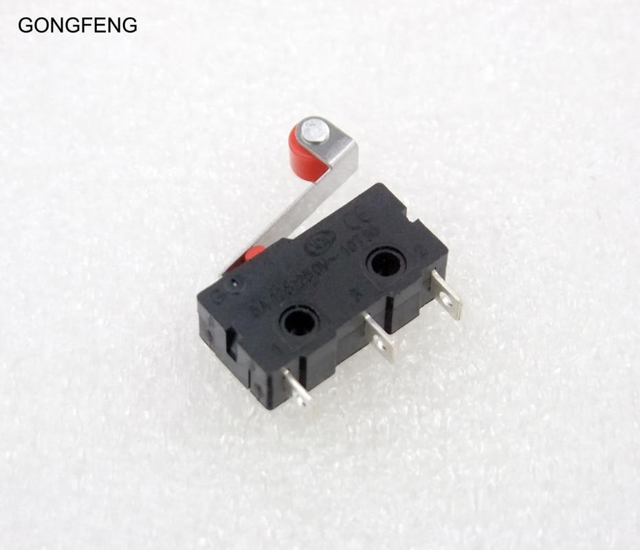 GONGFENG 200 قطعة متوسطة الحجم مايكرو التبديل مع الكرة عجلة ، الروك مقبض ، KW11-3Z ماوس إعادة زر خاص الجملة إلى البرازيل
