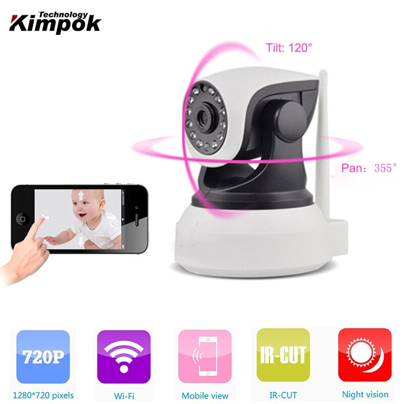 Yoosee 720P WiFi Wireless IP Camara HD IR Night Vision Baby Monitor 1.0MP Mini indoor Security Video Camera