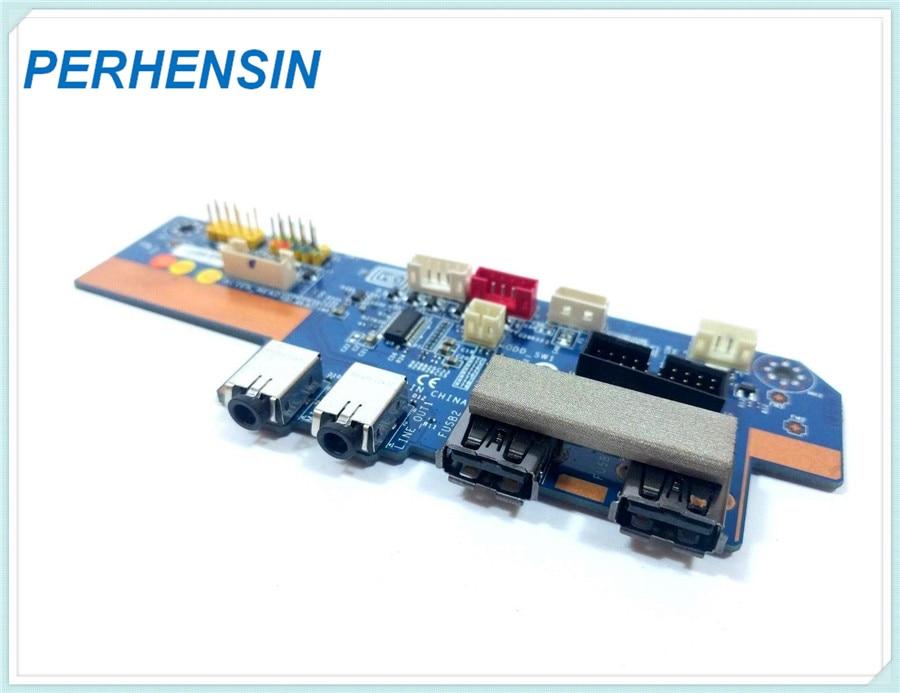 07MG94 الأصلي حقيقية لديل ل من ALIENWARE X51 R2 سلسلة MS-4338 io الصوت USB ميناء مجلس 7MG94