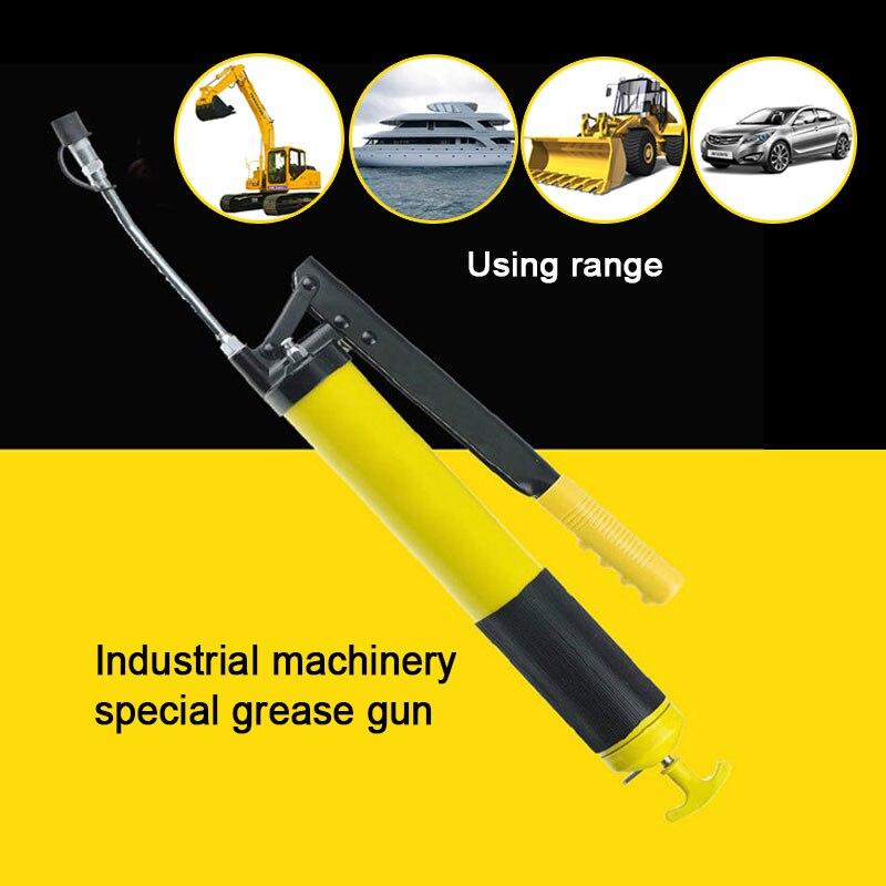 500cc/600cc neumática manual palanca de presión tipo pistola engrasadora Auto inyector de aceite pistola compresor bomba máquina de engrase herramienta de mano