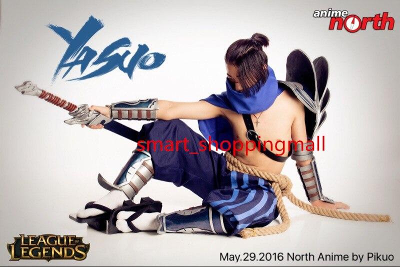 LOL Swordsman Yasuo Cosplay Kostüm