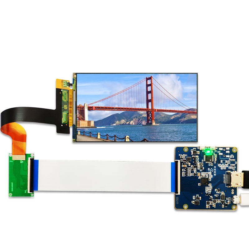 5 5 inch 2k lcd module lcd screen display and hdmi mipi driver board replacement for wanhao duplicator 7 3d printer vr glass MIPI Display 5.5 Inch 2K LCD Module 2560x1440 LS055R1SX03 Light Curing Display Photon Screen For VR LCD 3d Printer Projector