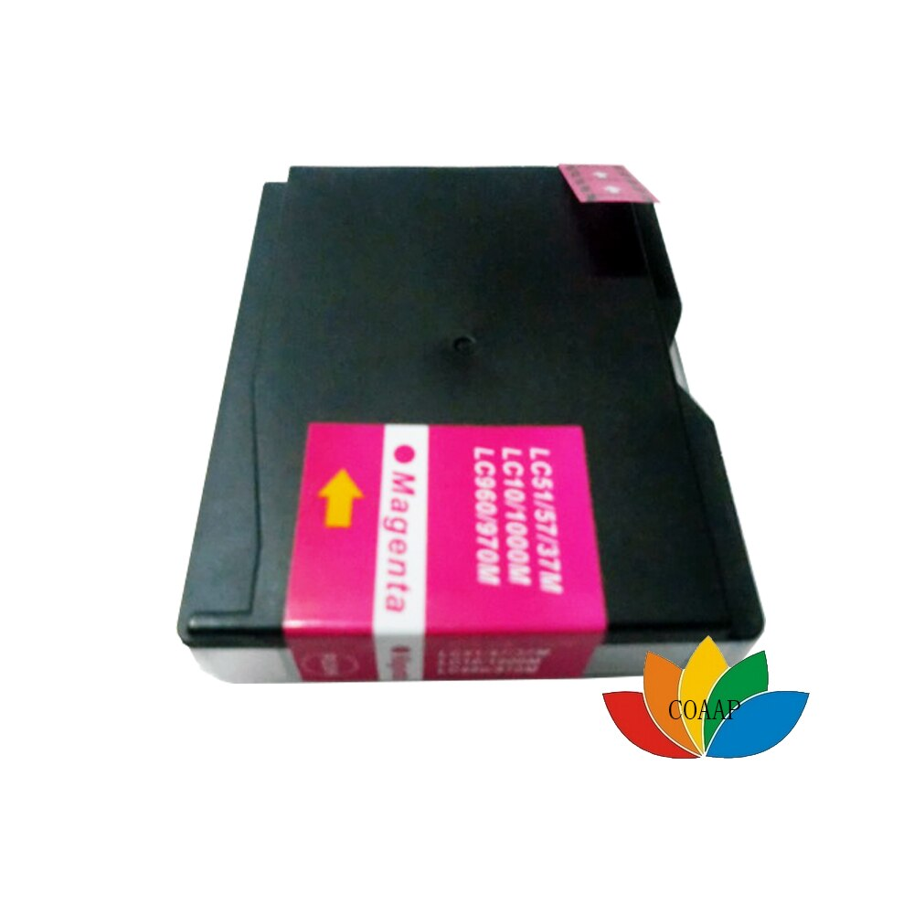 12PK LC 1000 Cartridges LC960 LC970 LC1000 Compatible for Brother DCP DCP-130C DCP-135C DCP-150C DCP-153C DCP-157C printer ink