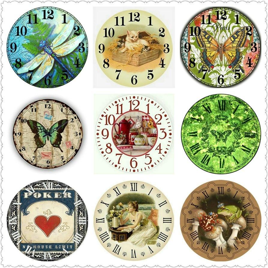 5d diy pintura diamante relógio de parede borboleta flor animal ícone quadrado completo/broca redonda 3d diamante bordado mosaico novo