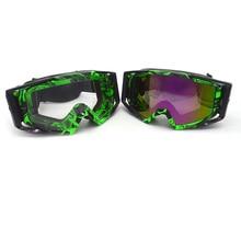 Professional Motocross Goggles Dirt Bike ATV Motorcycle Ski Glasses Motor Gafas UV Protection