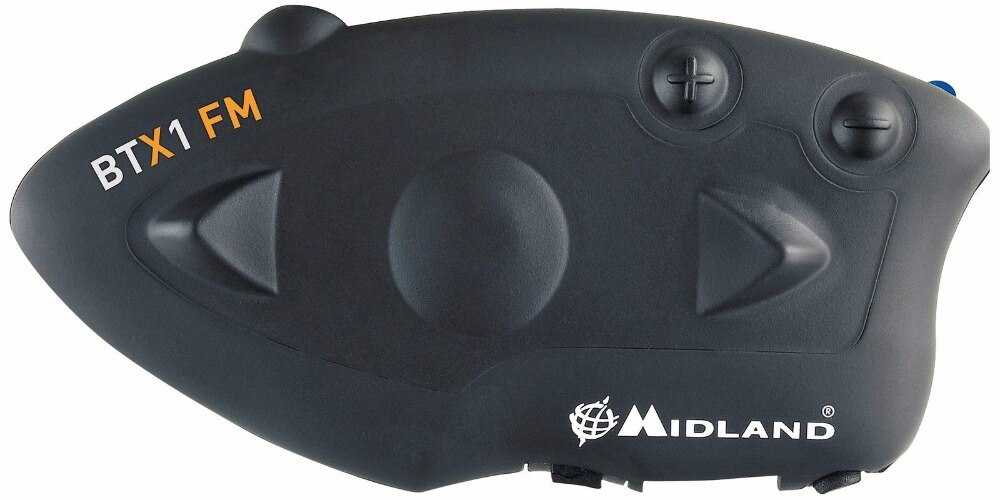 Гарнитура MIDLAND BTX1 для мотоциклетного шлема с Bluetooth, переговорное устройство, fm-радио, BT переговорное устройство, звонки без рук, 800 м