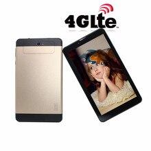 Glavey 7 pouces 4G-lte appel téléphonique MTK6735 tablette Quad Core 2 caméra Android 5.1 1GB + 8GB 1024x600 GPS tablette or