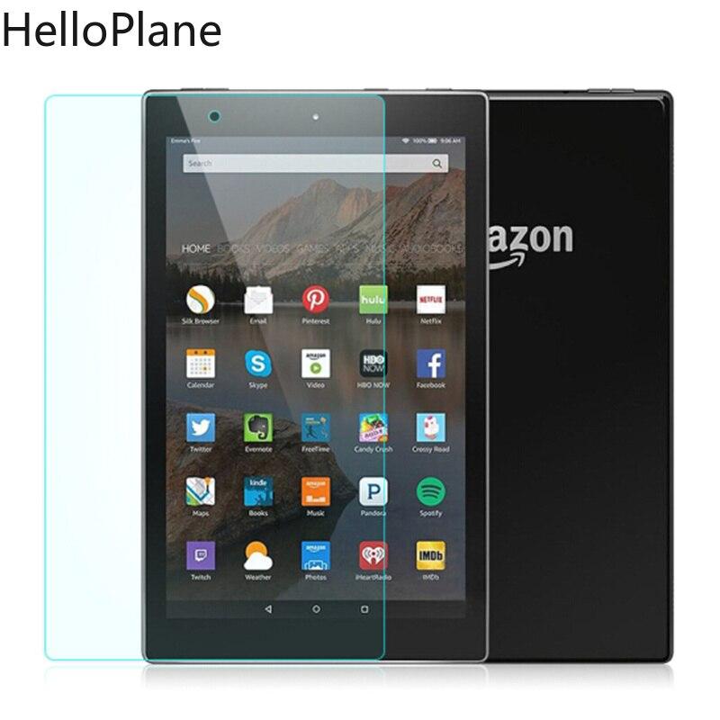 Защитная пленка для экрана из закаленного стекла для Amazon Kindle Fire HD 10 2019 2017 Новинка/HD10 2015/10,1 дюймов Защитная пленка для планшета