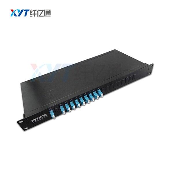 Single Fiber 16 Channal (1 input 16 output ) DWDM MUX DEMUX Rack mount 100GHz ITU Grid Dense Wavelength Division Multiplexer
