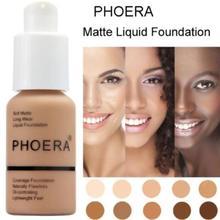 Marca de maquillaje para cara Natural, Base de crema, maquillaje profesional con acabado mate, maquillaje líquido corrector, cosmético a prueba de agua