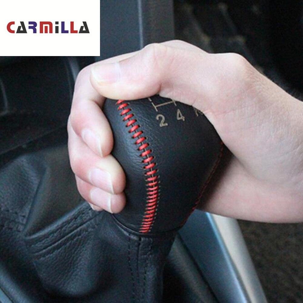 Cols de boîte de vitesses de voiture   Pour Fiesta Focus 3 4 MK3 MK4 MT, couvercle de pommeau de vitesse de voiture pour Ford Fiesta Ecosport