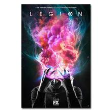 1165A LEGION - Dan Stevens USA Fight TV Show-Adhesivo de pared de seda póster lienzo ligero Decoración