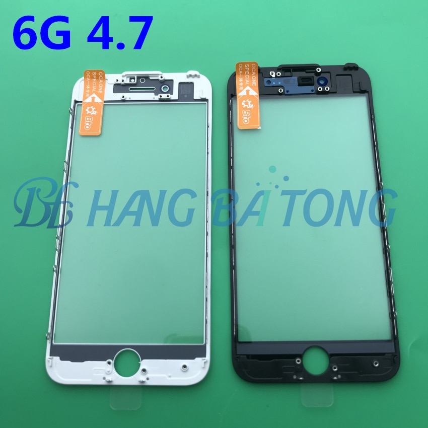 20pcs-original-new-lcd-front-touch-screen-glass-outer-lens-with-frame-bezel-oca-for-iphone-7-7plus-6-6s-6p-6sp-8-8plus-5-5s