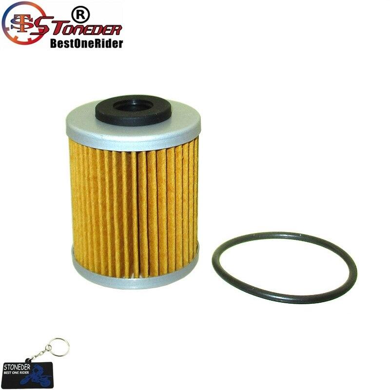 STONEDER corto 2nd filtro de aceite para KTM 400, 450, 520, 525, 560, 660, 690 Beta RR Enduro 4 T 250 400, 450, 525, Polaris forajido 450 MXR 525