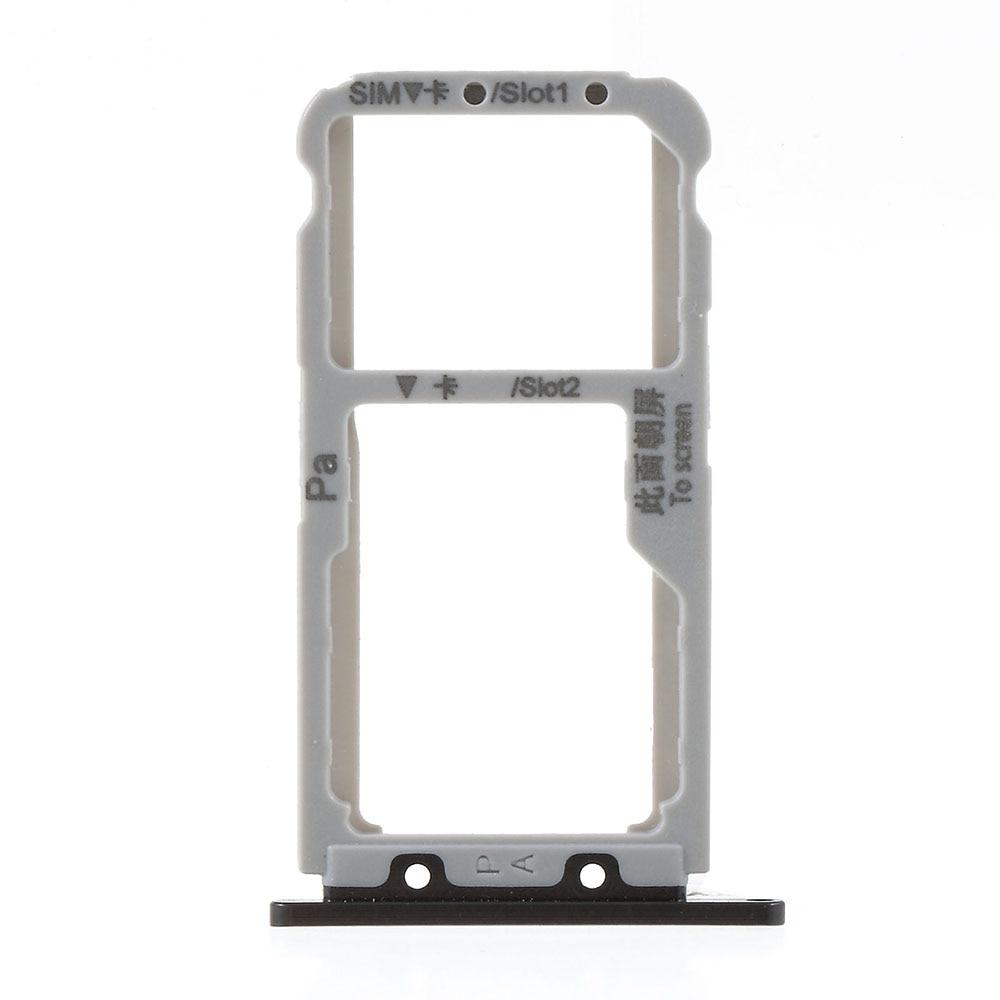 10 unids/lote para Huawei Nova 3 Doble tarjeta SIM bandeja ranura reemplazo-negro/azul Bebé/oscuro azul