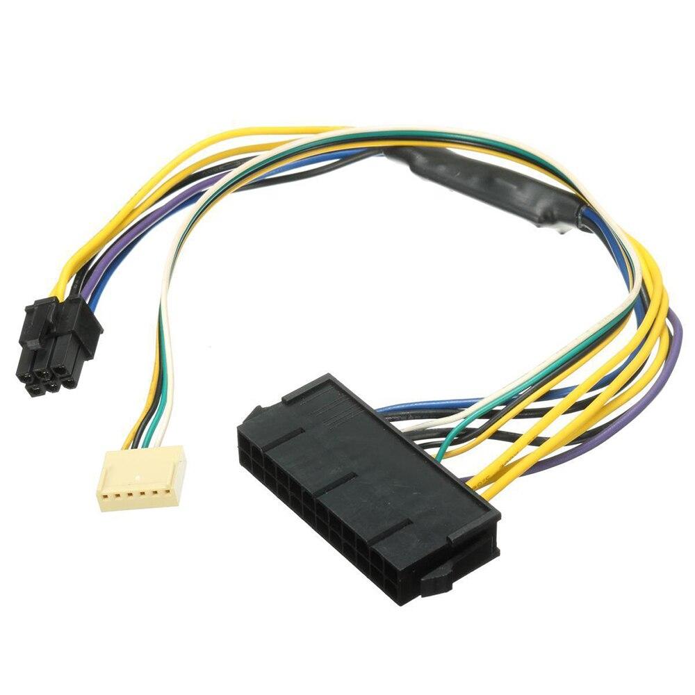 ATX Netzteil Kabel 24P zu 6P für HP Z220 Z230 SFF Mainboard server Workstation Schwarz