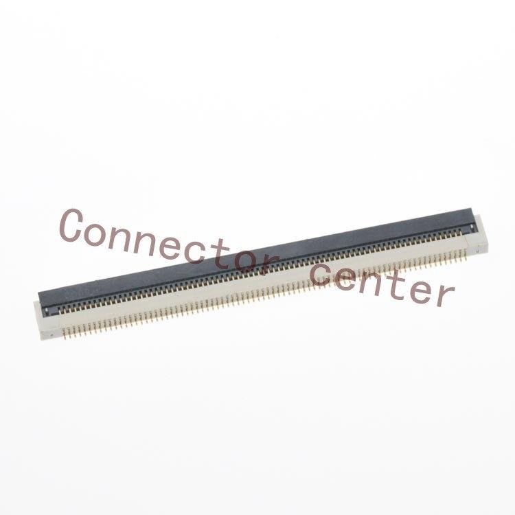 Original FPC/FFC ZIF Conector 80Pin P-TWO 0.5mm Pitch 1.8mm Altura Único Lado Front Flip