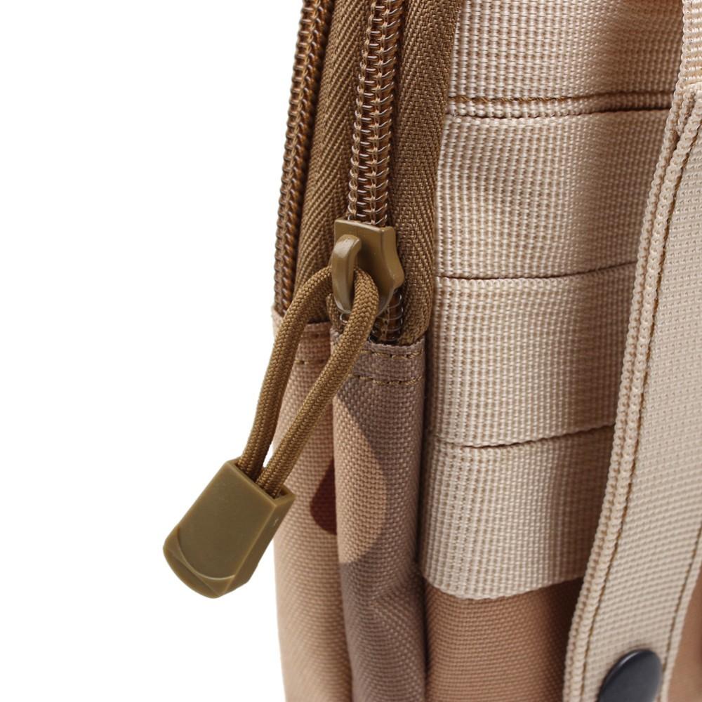 Uniwersalny Odkryty Wojskowy Molle Tactical Kabura Pasa Biodrowego Pasa Torba portfel kieszonki kiesy telefon etui z zamkiem błyskawicznym na iphone 7/lg 18