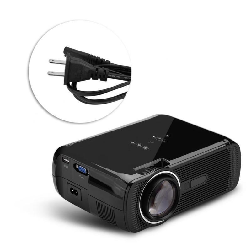 Mini Home cinéma 1080P Full HD HDMI Bluetooth WIFI projecteur LED lecteur multimédia vidéo noir nous