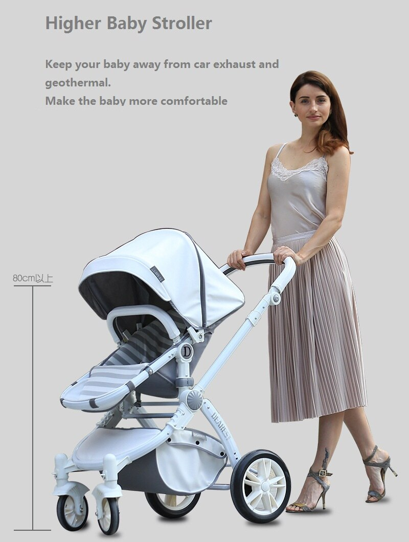 Cochecito de bebé paraguas 2 en 1 multifuncional portátil, carrito de bebé ligero para recién nacidos, silla de ruedas Babyhit, Cochecitos de bebé