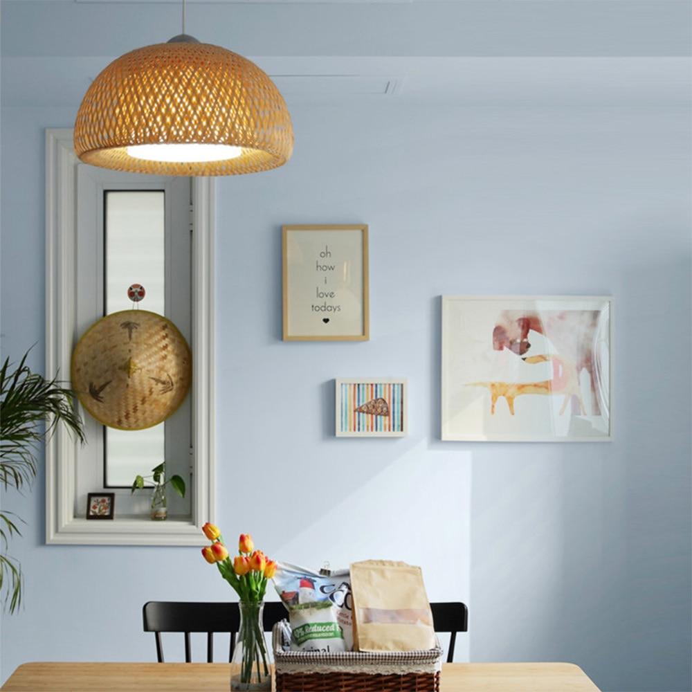 مصباح معلق عتيق مصنوع يدويًا من الخيزران ، فانوس لغرفة المعيشة ، فندق ، متجر ملابس ، مطعم ، 100%